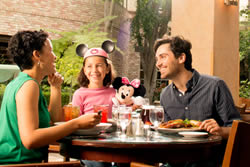 family dining in Anaheim, CA