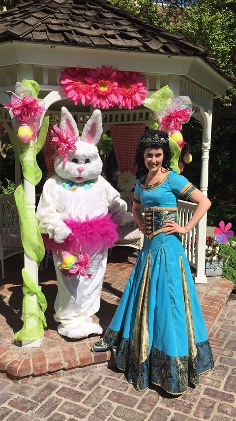 Princess Corinne Easter Egg Hunt