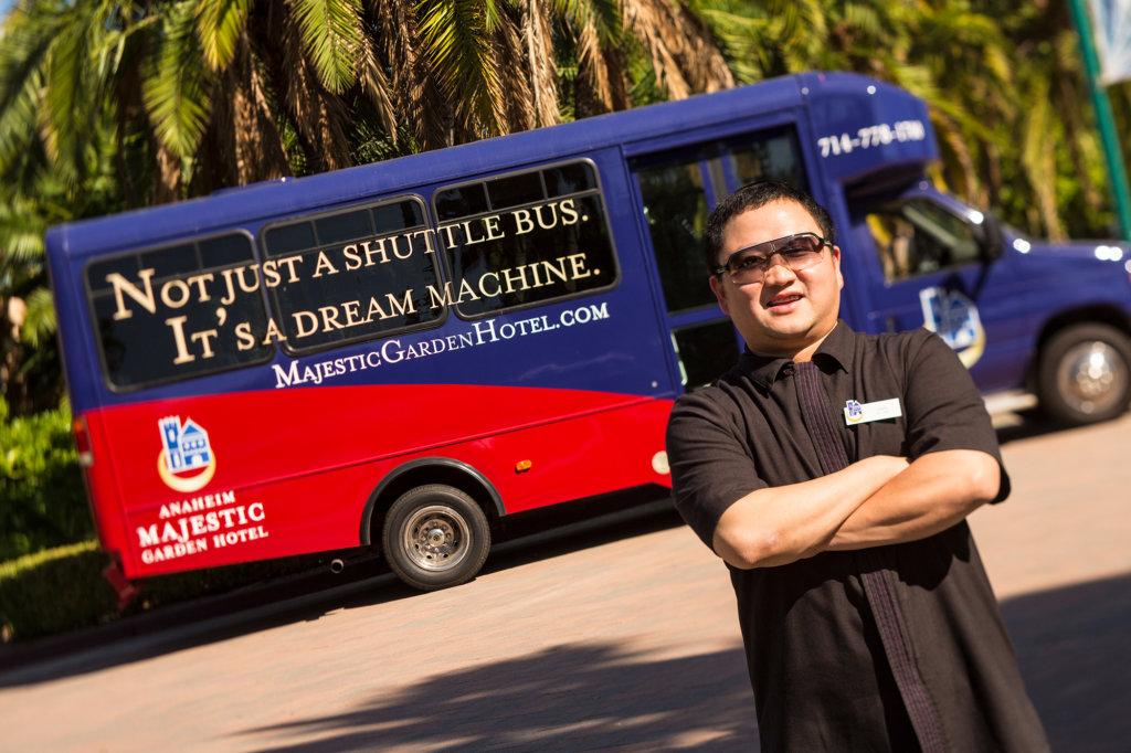 Free Disneyland® Resort Hotel Shuttle - Anaheim Majestic Garden Hotel