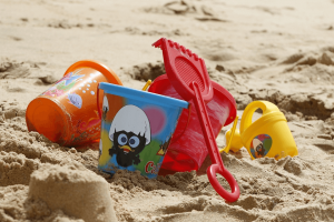 Beach toys are a great option for a day at the beach in SoCal.