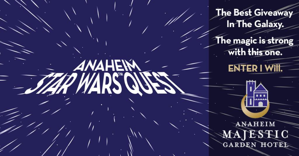 Enter the Anaheim Star Wars Quest