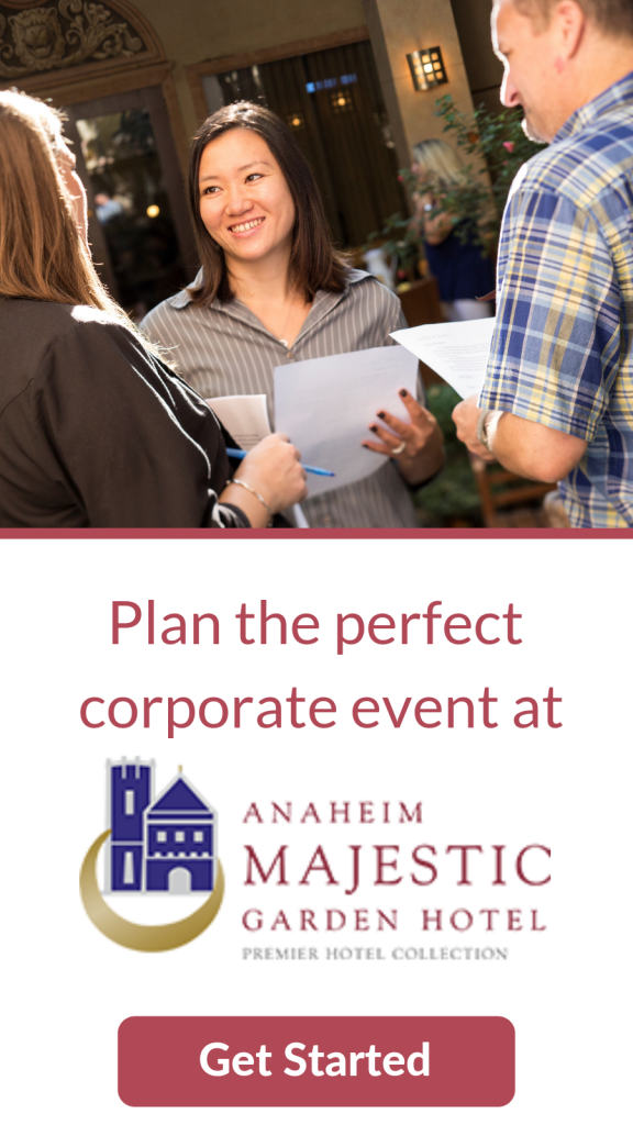Plan the Perfect Event Anaheim Majestic Garden Hotel