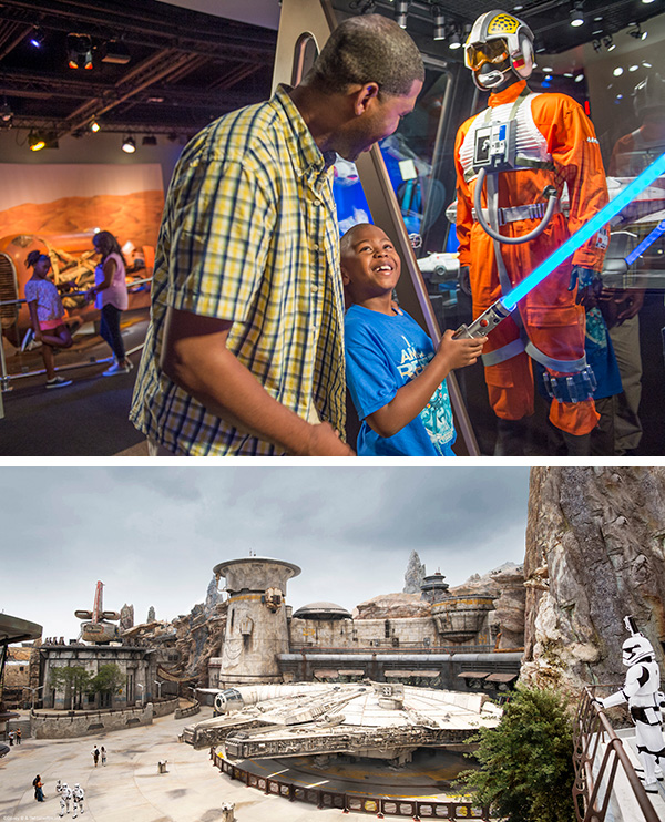 Star Wars: Galaxy's Edge at Disneyland®️